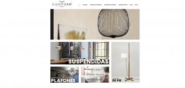 Diseño web Tienda de lámparas de diseño en Reus