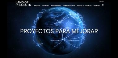 Diseño web y programación para web de proyectos internacional