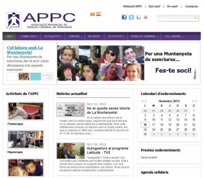 Diseño de página web para centro de parálisis cerebrar