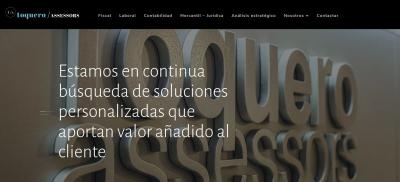 Diseño web para gestoría en Cambrils