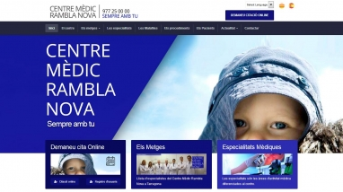 Migración drupal desfasado a joomla de un centro médico