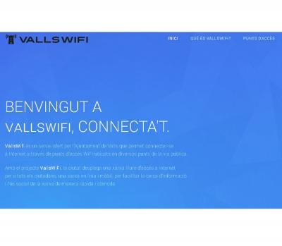 Diseño de página web  Portal Ajuntament de Valls