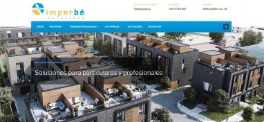 Diseño página wen para empresa de impermeabilización