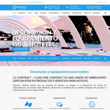 Diseño de página web corporativa para empresa de reformas en Cambrils