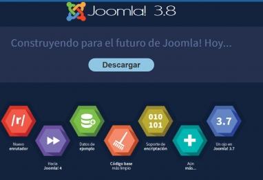 Novedades Joomla 3.8 y mejoras CMS web