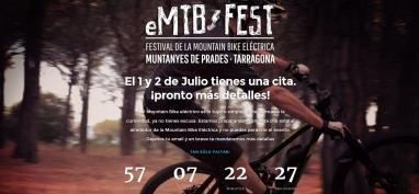 Diseño de página web para festival de btt