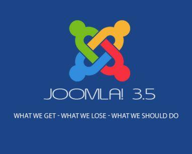 Joomla 3.5 novedades y mejoras de la nueva versión del CMS