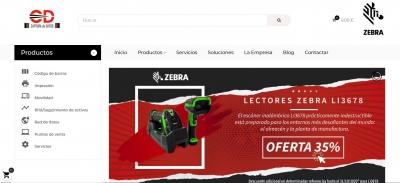 Diseño web para Tienda de accesorios ZEBRA