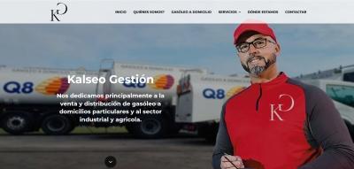 Diseño web para empresa de Gasóleo a domicilio en Asturias