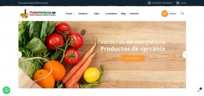 Diseño para tienda de frutas y verduras online en Tarragona
