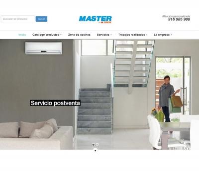 Diseño de página web cadena de electrodomésticos en Madrid