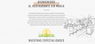 Diseño página web para pizzeria en cambrils