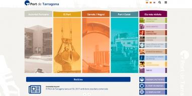 Diseño Web Autoritat Portuària de Tarragona