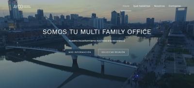 Web para gestores de patrominios en Barcelona y Madrid