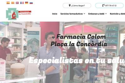 Diseño web para Farmacia en Cambrils