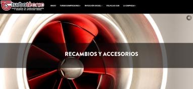 Diseño de página web para empresa de automoción