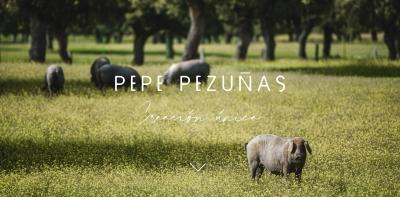 Diseño web para tienda de Jamones online Pepe Pezuñas