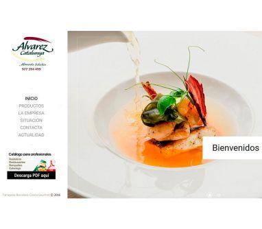Diseño de página web para Distribuidores de alimentación Gourmet