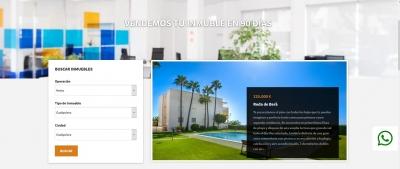 Diseño web para compra venta de pisos