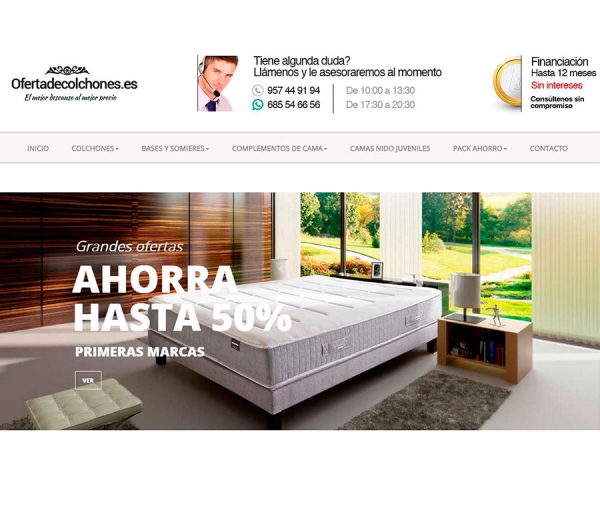 Outlet colchones madrid cheap canap abatible madera d for Sofas baratos madrid outlet