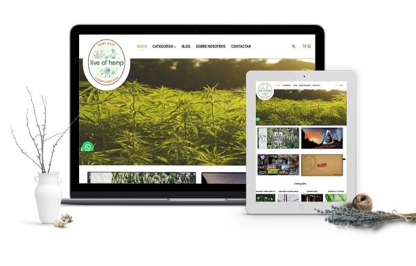 Diseño tienda virtual en prestashop para tienda de cannabis en Reus