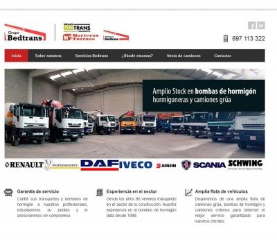 Diseño de página web Empresa de servicios para la construcción