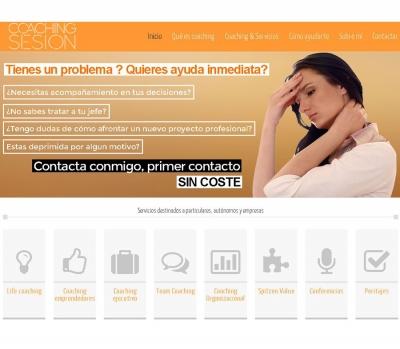 Diseño de página web Coaching Tarragona