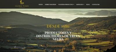 Global Tuber   Diseño web para truficultores en lleida