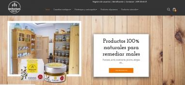 Diseño de tienda virtual para Herbolario Online en Tarragona
