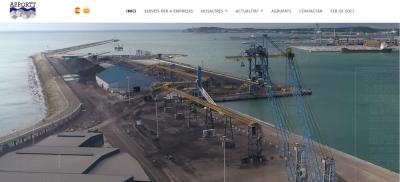 Diseño de página web para empresa de promoción del Port de Tarragona
