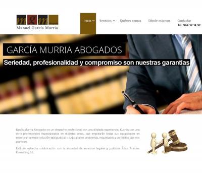 Diseño de página web para abogados en Castellón