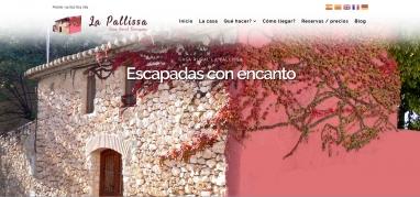 Diseño de página web para casa rural en Tarragona y blog