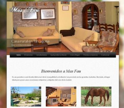 Diseño de página web casa rural