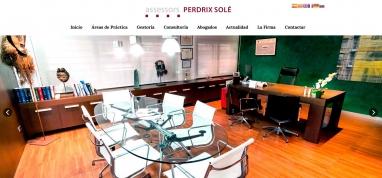 Diseño de página web para Asesoría gestoría en Cambrils