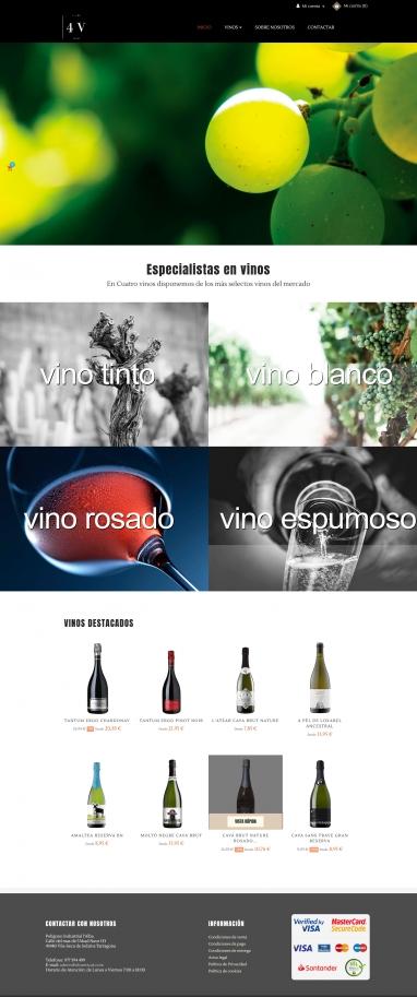 Diseño y programación de tienda virtual de vinos en Tarragona