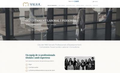 Diseño de página web Gestoría Asesoría en Tarragona