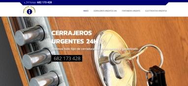 Diseño web para empresa de cerrajería